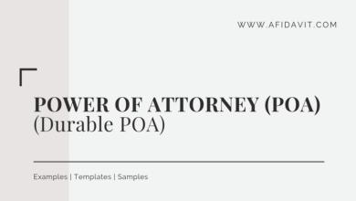 Power Of Attorney Letter Template from afidavit.b-cdn.net